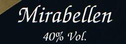 Etikett Mirabellenbrand