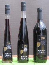 Wildfrucht-Likör 0,2L, 0,5L und 1,0L Flaschen